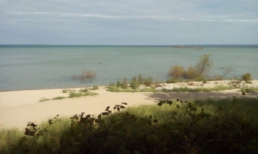 Mission Peninsula Beach,  Traverse City, MI