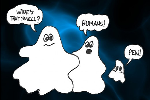 Do ghosts really feel this way?