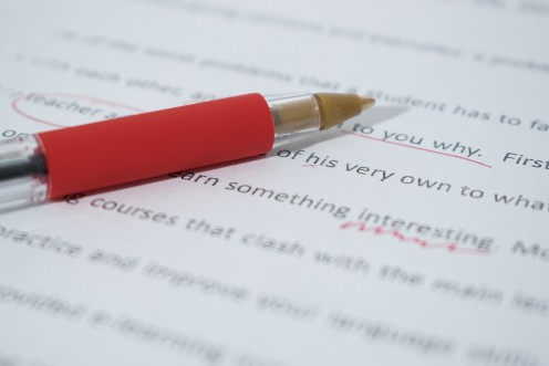 Proofreading is even more important than the intitial writing!