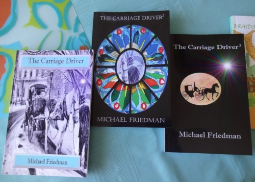 The Carriage Driver Series includes three releases filled with short stories.