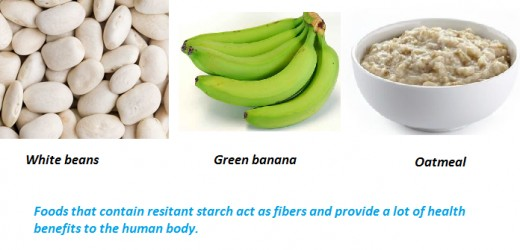 Some starchy foods contain resistant starch which which are capable of lowering blood sugar level.