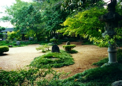 Another view of the Garden of Peace at the Nimitz Museum.