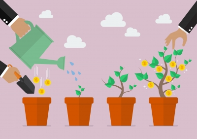 Money grows if you plant it. It is no different than making goals to follow a dream.