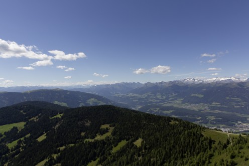 Corones Panoramic View Italy (The Alps)