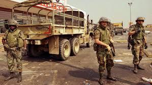 National Guard In LA 1992