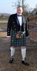 Resplendent in My Kilt and Finery