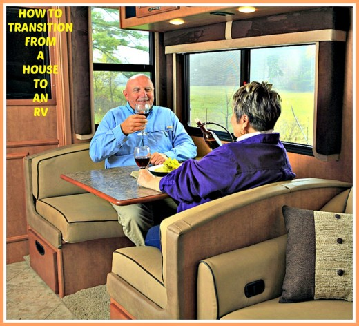 Making the move from a house to an RV is a big decision and can be a ton of work.