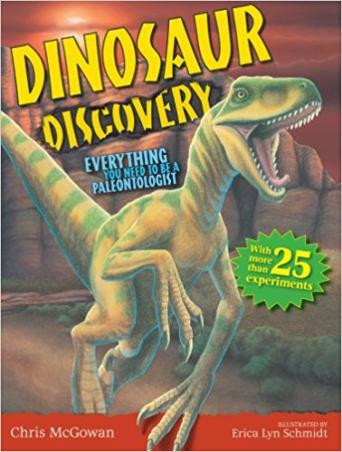 Dinosaur Discovery Book for those Wannabe Paleontologists