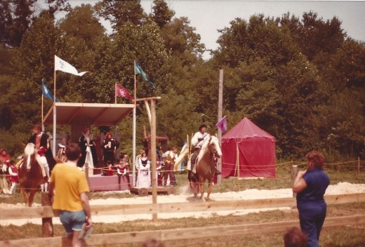 Jousting, the official sport of the State of Maryland since 1962.  I wonder what non-Marylanders thought of it at the time?
