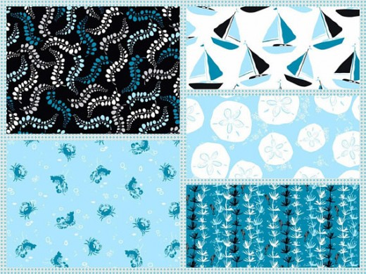 Just one of many fat quarter packs on sale at Etsy
