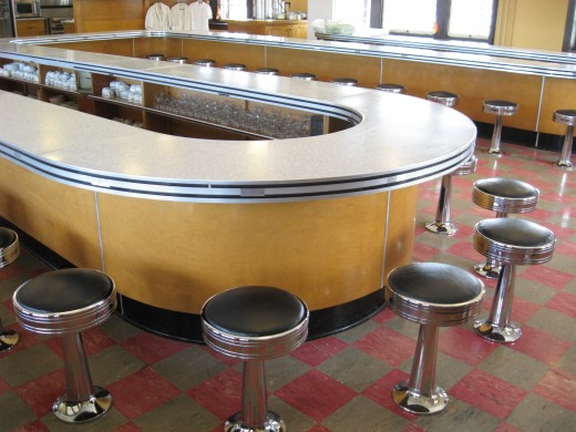 The quick lunch counter.