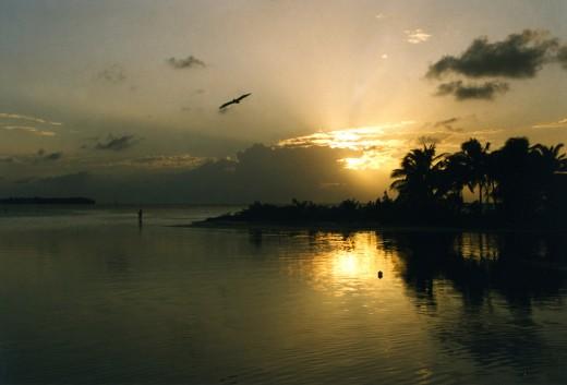 A Belizean island