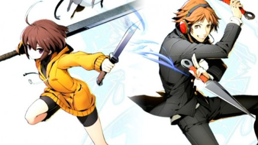A pairing image of Yosuke and Linne