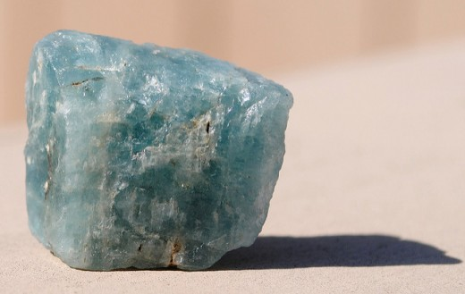 Aquamarine promotes joy and happiness.