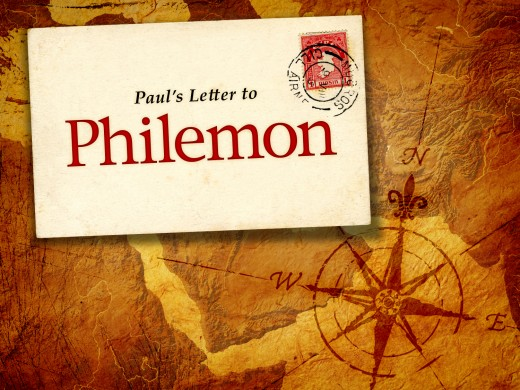 This photo is about Paul's letter to Philemon in envelope design