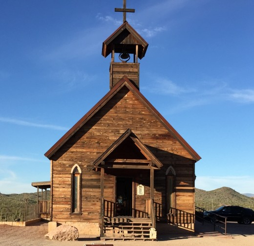 Church in Goldfield