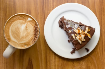 Coffee and dark chocolate have antioxidants that help fight free radicals that cause cancer