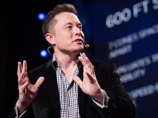Elon Musk, the leader of Tesla and SolarCity