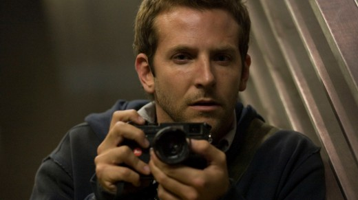 Bradley Cooper plays Leon. Looking to up the ante on his photography career by finding scenes that show he has an edge no one else has.