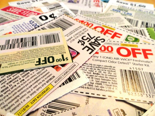 Coupons are so last decade. Use digital coupons and cash back apps instead.