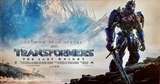 "Transformers: The Last Knight - ""Rethink your heroes"". This movie hurts my brain."