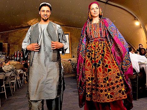 Afghan clothing style