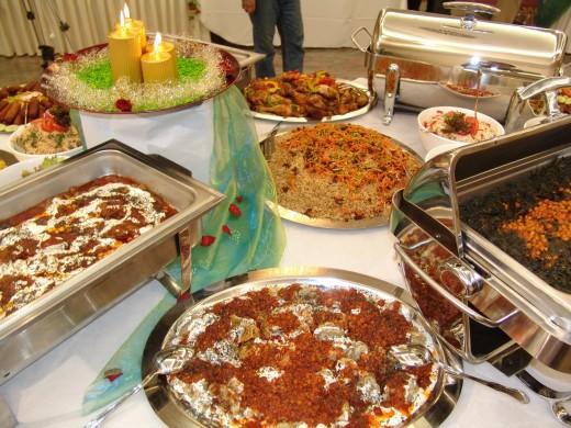 Afghani Foods- Mantu and Qabuli