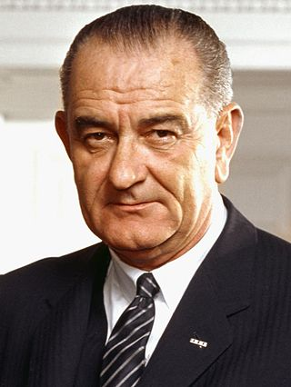Lyndon B. Johnson,36th President of the United States