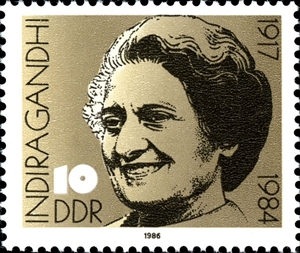 Indira Gandhi was born on 19th.