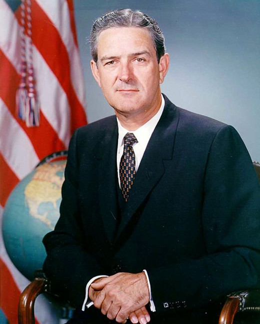 The actual picture of Texas Governor John B. Connally