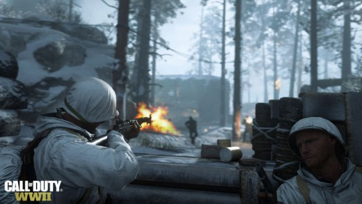 Call of Duty: WWII - immerse yourself in the multiplayer action in the all new game mode, 'War'