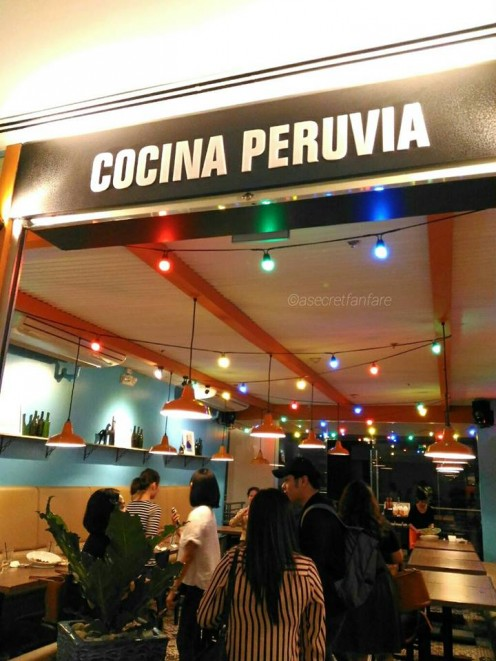 Cocina Peruvia's new branch at Ayala Malls Vertis North