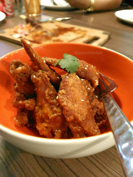 Rocoto Chicken Wings