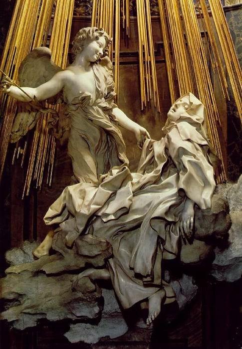 The Ecstasy of Saint Theresa by Gian Lorenzo Bernini