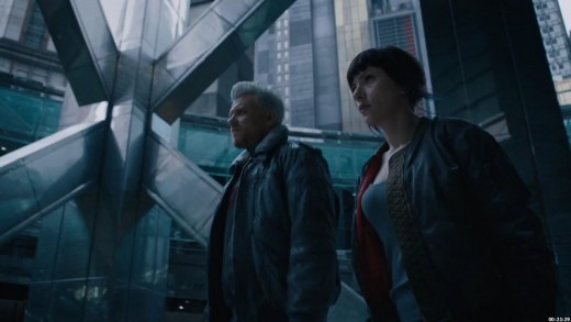 It's looks like Ghost in the Shell, but it's NOT truly GITS!