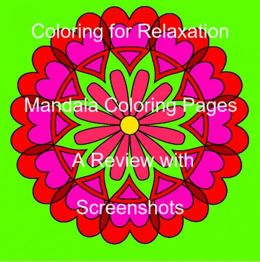 Mandala Coloring Pages App A Review With Screenshots