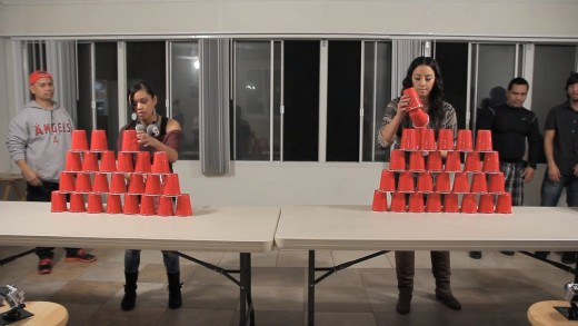 Fun Cup Stack Attack Game