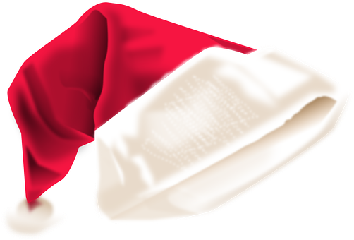 Give your guests a Santa Hat to wear when they play Christmas Cup Stack Attack