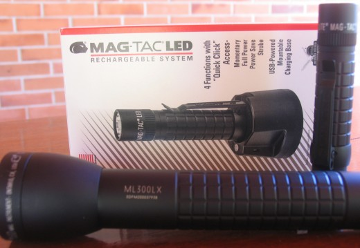 Our New Maglite Flashlights