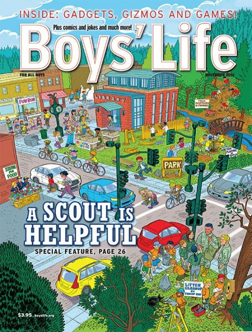Author's favorite magazine as a youth