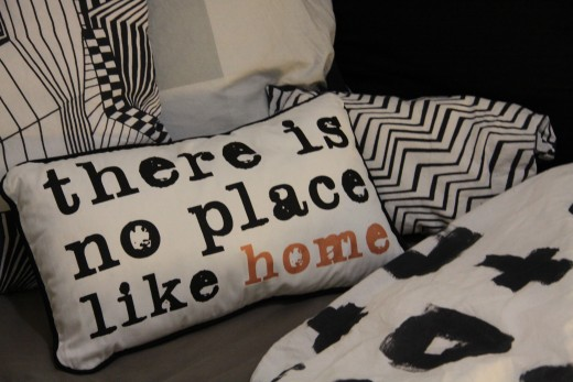 The cushion cover states it all.
