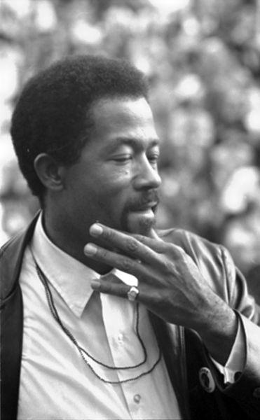Civil rights activist and Black Panther member, Eldrige Cleaver.
