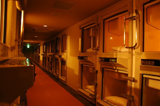 Do you want to be comfortable in your sleep? Capsule hotel may be the best place to be.