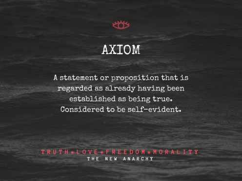 Definition of Axiom