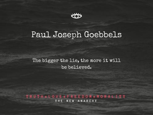 Paul Joseph Goebbels Quote