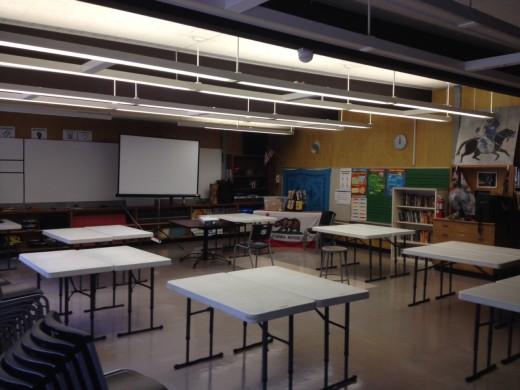 Classrooms empty as families seek better alternatives.