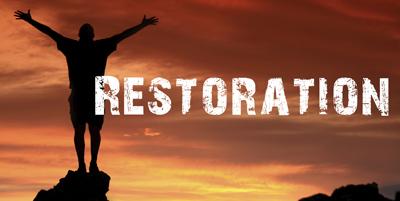 John Chapter 21 talks about Restoration