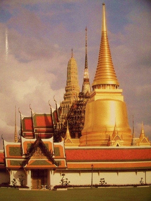 Bangkok, Thailand has some of the world's most beautiful palaces and temples. The city is also a major crossroad for international travel in Asia.
