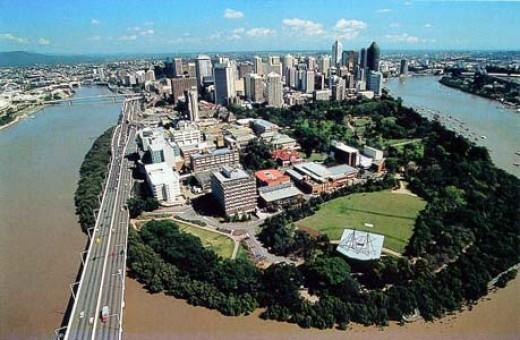 QUT Gardens Point Brisbane Queensland