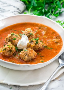 How to Make Gingery Meatball Soup